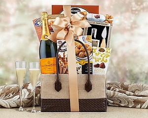 Classic Elegance Champagne Gift Basket