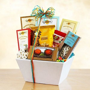 Delicious Gourmet Food Gift Basket