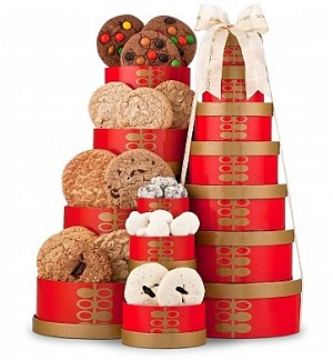 Delightful Cookie Gift Tower