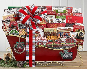 Deluxe Extraordinary Christmas Holiday Sleigh