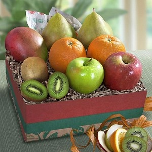 Exotic Fruit Collection Gift Basket