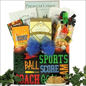 Father's Day Sports & Snack Gift Basket