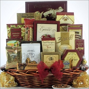 Finer Things: Deluxe Corporate Gift Basket