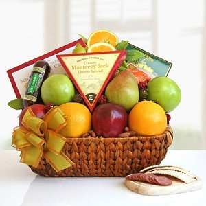 Fruits Abounds: Fruit Gift Basket