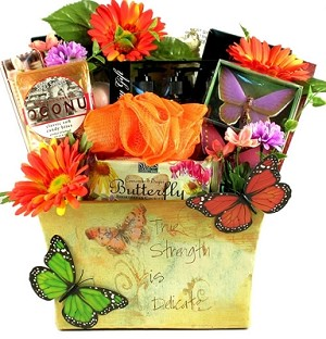 Garden Delights Gift Basket For Her