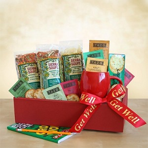 Gluten Free Soup Get Well Gift Basket