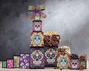 Rocky Mountain Halloween Chocolate Gift Tower