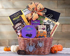 Halloween Spider Snack Gift Basket