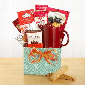 Hearty Tea Lover Gift basket