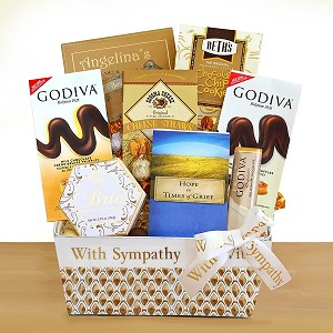 Hope and Healing Sympathy Gift Basket