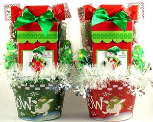 Let It Snow: Holiday Gourmet Gift Basket