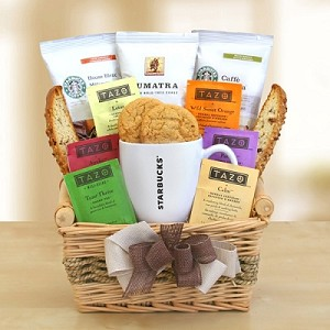 Starbucks Breakfast Gift Basket