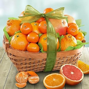 Sweetest Sunshine: Fruit Gift Basket