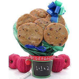 Teacher Cookie Bouquet Gift Planter