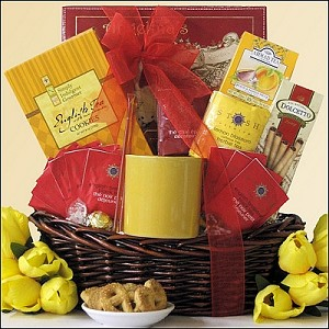 Tea Lover Gift Basket