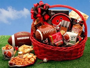 The Football Fanatic Sports Gift Basket