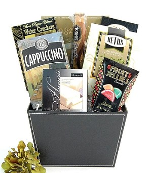 Thoughtful Wishes: Gourmet Food Sympathy Gift Basket