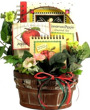 To A Special Teacher: Gift Basket For Teachers