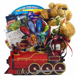 Train Gift Basket For Children