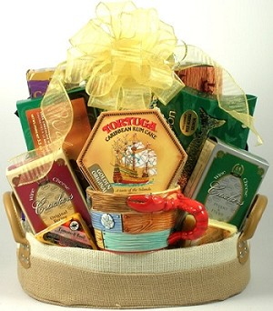 Tropical Delights: Tropical Gift Basket