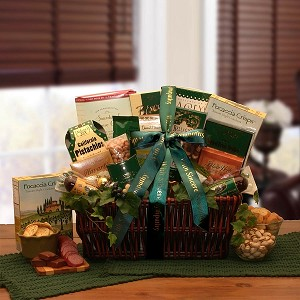 With Sincere Sympathy Gourmet Gift Basket