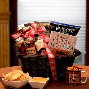 World Class Father: Father's Day Gourmet Gift Basket