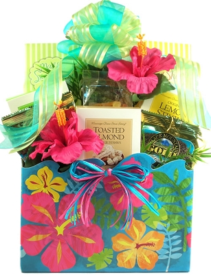 Island Fare Snacks Gift Basket