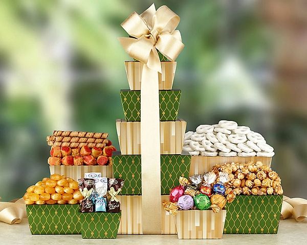 Assorted Sweets Gift Tower