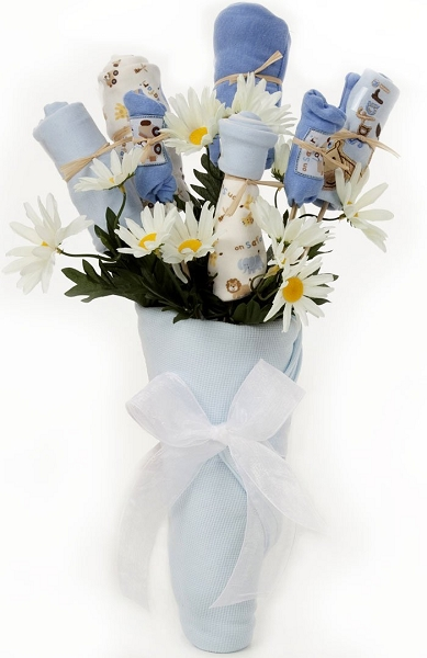New Baby Clothes Bouquet Gift Boy