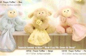 Baby Gund - Musical Prayer Fluffles
