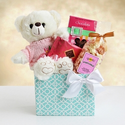 Bear Hugs For Mom: Gift Basket
