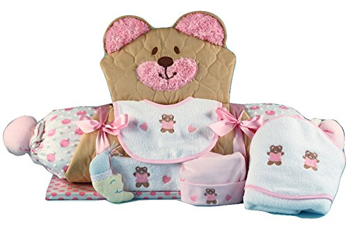 Bear Play & Changing Mat Layette Baby Girl Gift