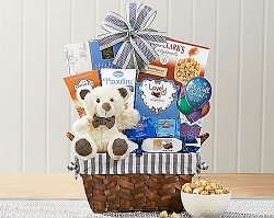 Bear's Love: Get Well Soon Teddy Bear Gift Basket
