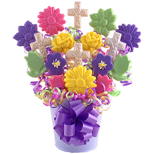 Blooms Of Blessings Lollipop Bouquet