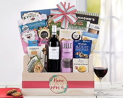 Chardonnay Mother's Day Collection Wine Gift Basket
