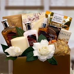 Caramel & Sweet Indulgence Spa Gift Basket