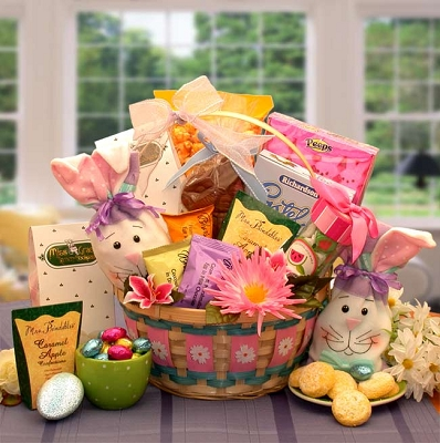 Celebrating Easter: Sweets Easter Gift Basket