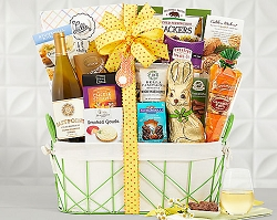 Chardonnay Easter Assortment Wine Gift Basket