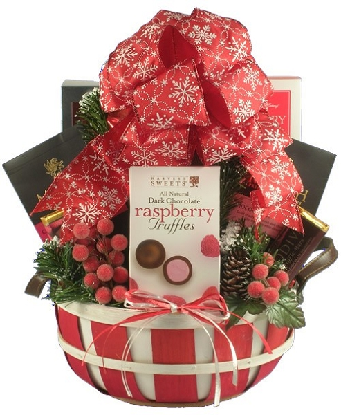 Cheerful Christmas: Holiday Gift Basket