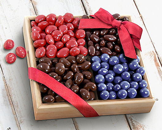 Chocolate Bliss Fruit and Nut Gift Tray