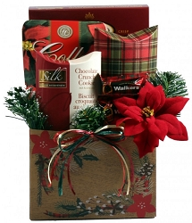 Christmas Charm: Holiday Gift Basket