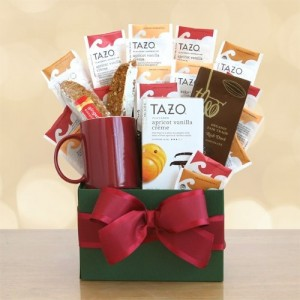Comforting Tazo Tea Gift Basket