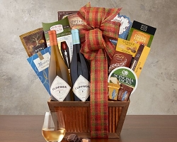Congratulations! Wine Gift Basket