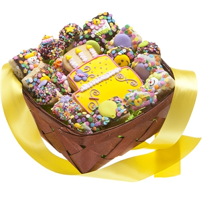 Cookies & Sweets Birthday Gift Basket