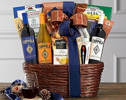 Diamond Collection: Francis Coppola Wine Gift Basket