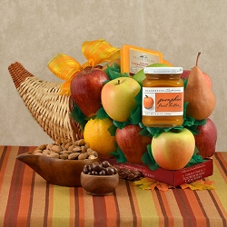Cornucopia Fruit Gift Basket
