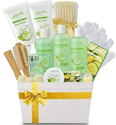 Cucumber & Melon Spa Experience Gift Basket
