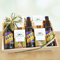 Dad's Root Beer Delight Gift Basket
