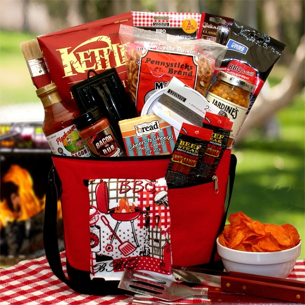 Deluxe Barbecue Gift Basket