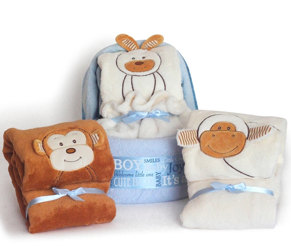 Diaper Cradle Baby Boy Gift Set